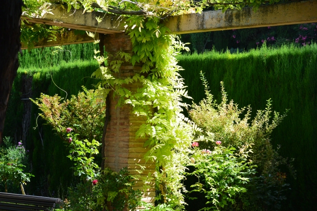 Grenade - Les jardins de l'Alhambra